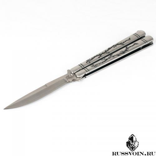 Нож-бабочка (Балисонг) Black Dragon