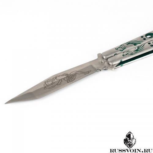 Нож бабочка  клинок Танто