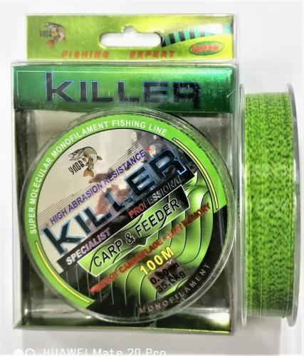 Леска Killer 3D зеленая