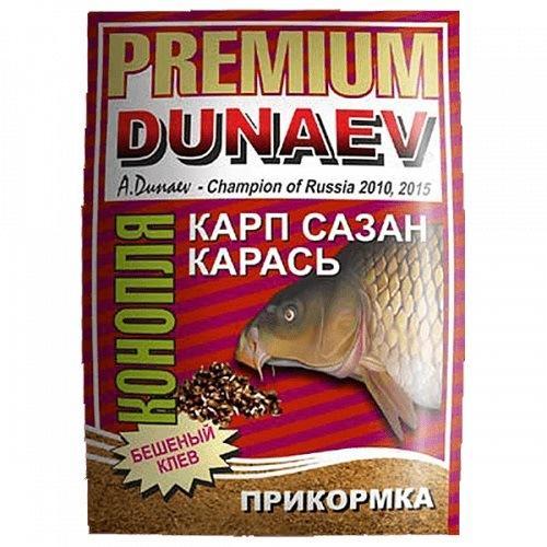 Прикормка Dunaev Premium Конопля