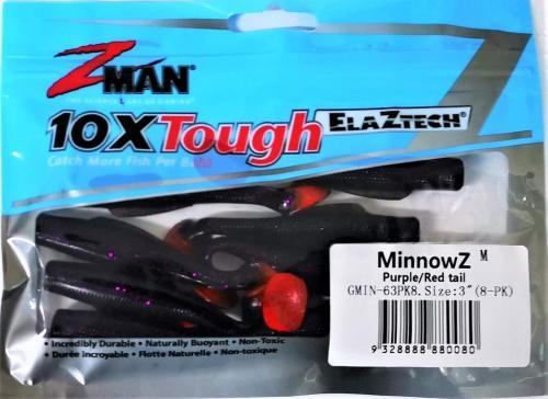 """Виброхвост ZMan 3"""" 080"""