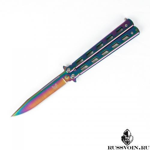 Нож-бабочка (Балисонг) Градиент