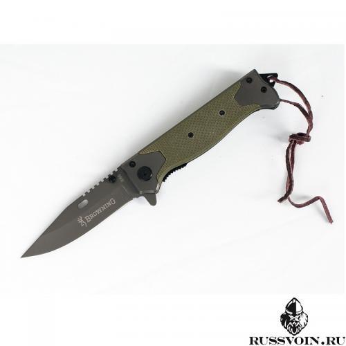 Складной нож Browning Light Green