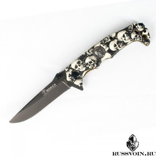 Складной нож Boker Skull