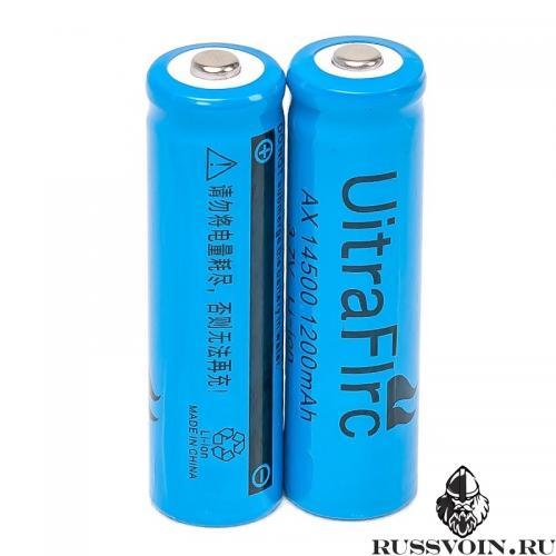 Аккумулятор Li-ion 14500 3.7v 1200 mAh