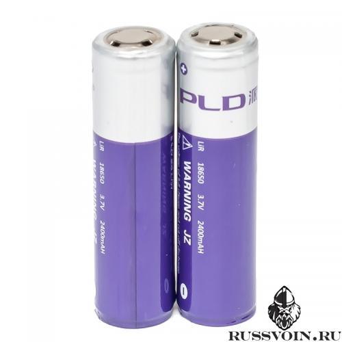 Аккумулятор 18650 Li-Ion 3.7V 2400 mAh