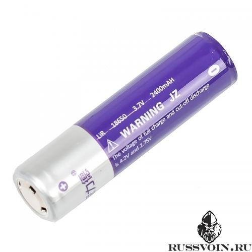 Аккумулятор 18650 3.7V 2400 mAh