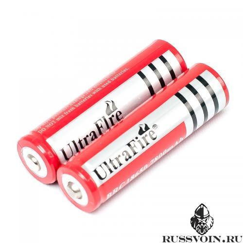 Аккумулятор 18650 UltraFire 4.2V Li-ion 7800mAh
