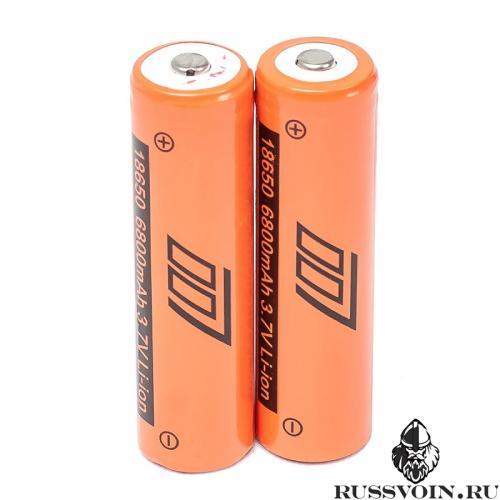 Аккумулятор 18650 Li-ion 3.7v для фонарика