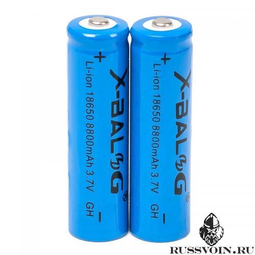 Аккумулятор 18650 X-Balog 3.7v Li-ion