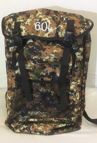 Рюкзак охотничий Камуфляж цифра 60л
