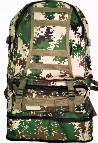 Рюкзак камуфляж цифра зеленый C03