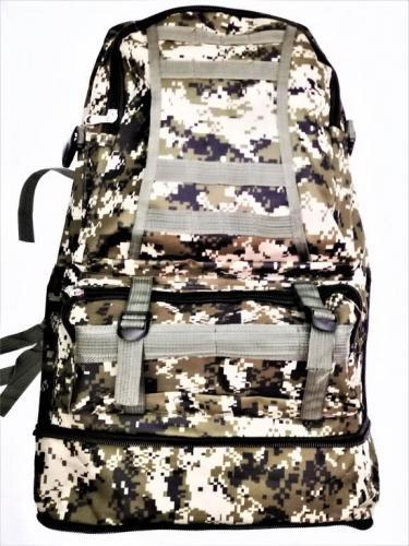 Рюкзак камуфлированный цифра C01