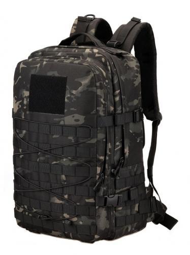 Рюкзак военный Protector Plus S457 Черный камуфляж