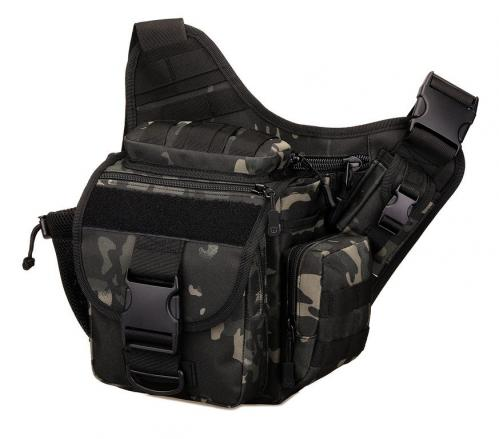 Сумка плечевая Protector Plus K305 Черный камуфляж
