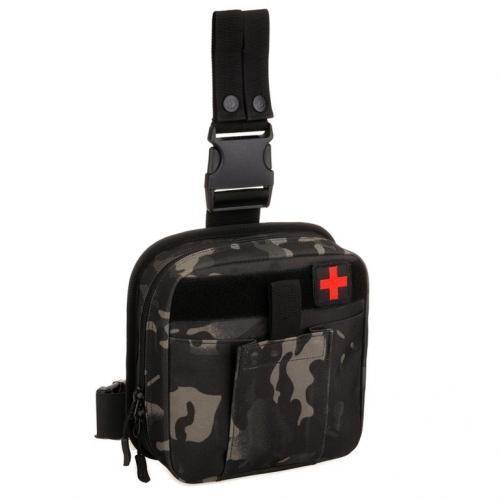 Тактическая аптечка Protector Plus A017 Черный камуфляж