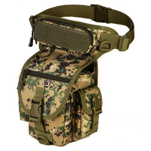 Сумка набедренная Protector Plus K314 Лесной камуфляж