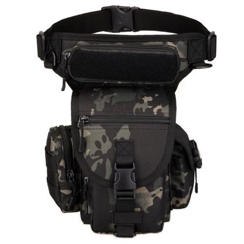 Сумка набедренная Protector Plus K314 Черный камуфляж