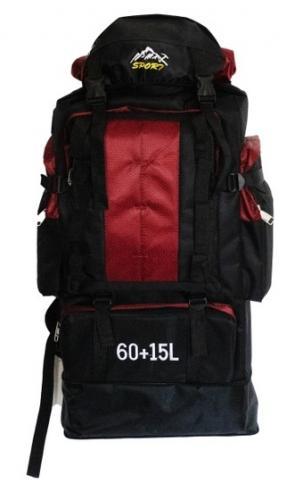 Рюкзак Sport 60л Красный