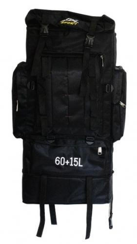 Рюкзак Sport 60л Черный