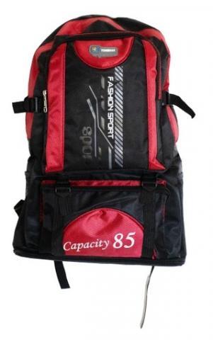 Рюкзак для похода 85л Красный