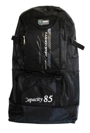 Рюкзак для туризма 85л Черный