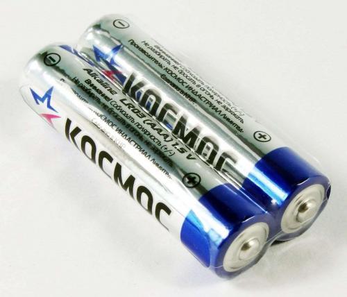 Батарейки Космос LR03 ААА 2шт