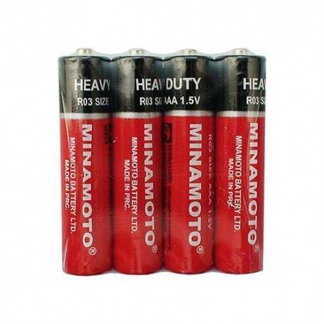 Батарейки Minomoto R03 ААА 4шт