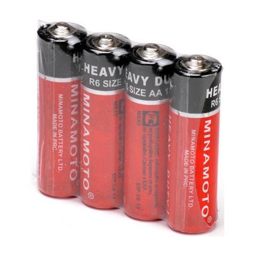 Батарейки Minomoto R6 АА 4шт