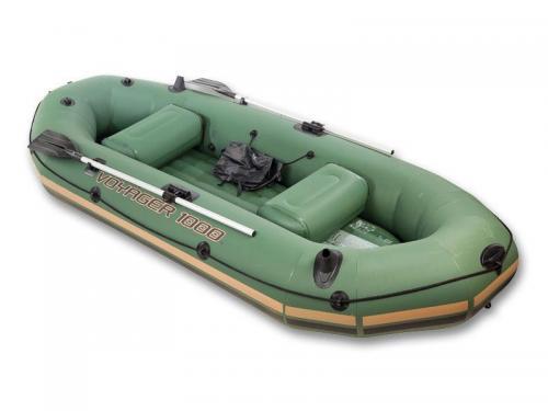 Надувная Лодка Bestway Зеленая