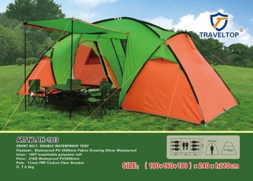 Палатка 8 местная Traveltop TH-1913