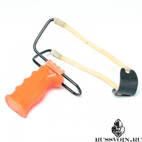 Легкая рогатка оранжевая