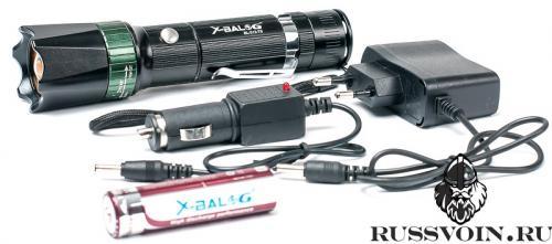 Светодиодный фонарь X-Balog BL-313