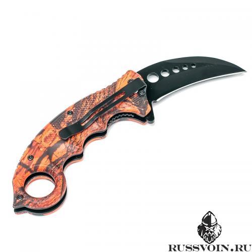 Складной керамбит Smith&Wesson