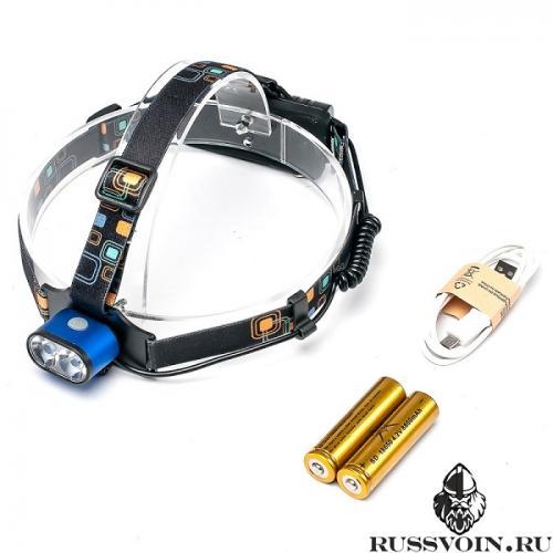 Налобный фонарь USB