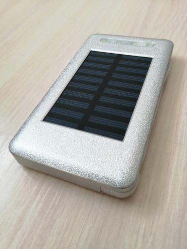 Внешний аккумулятор PowerBank Серебристый
