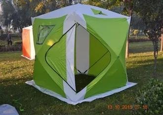 Зимняя палатка куб СТ-1622 (2.20м*2.20м*2.35м)