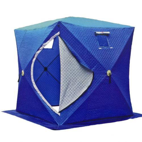Палатка зимняя утепленная 1802 (1.8м*1.8м*2.05м)