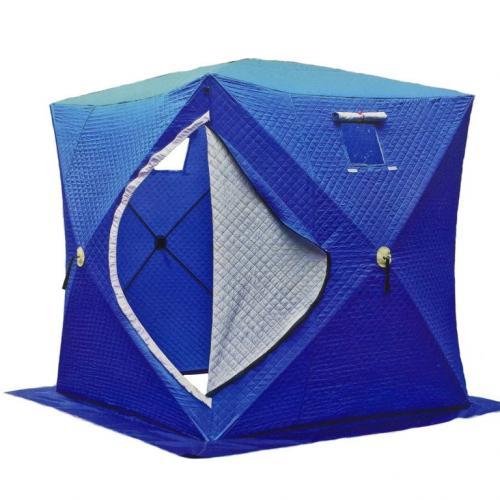 Палатка зимняя утепленная 2002 (2м*2м*2.1м)