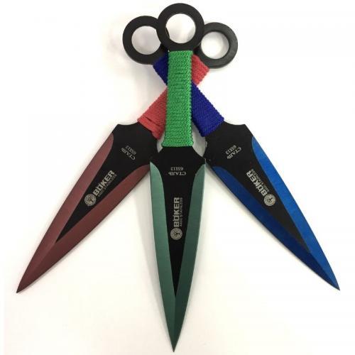 Метательные ножи Boker цветные