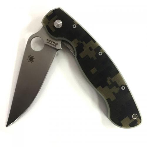 Складной нож Spyderco Military фото