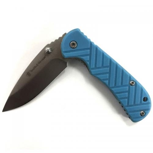 Нож Smith&Wesson Голубой