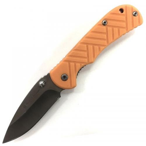 Складной нож Smith&Wesson Оранжевый