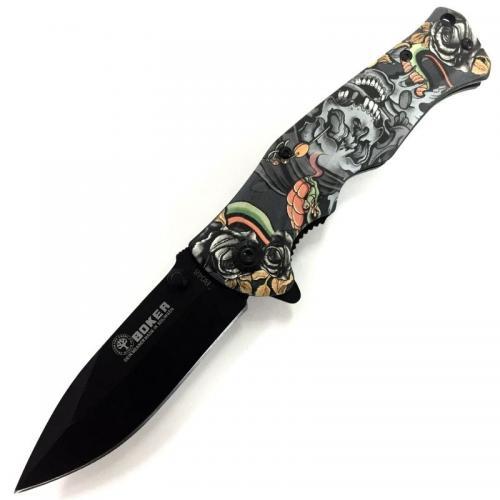 Складной нож Boker B048 Череп