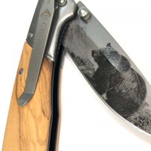 Нож Бурый Медведь фото