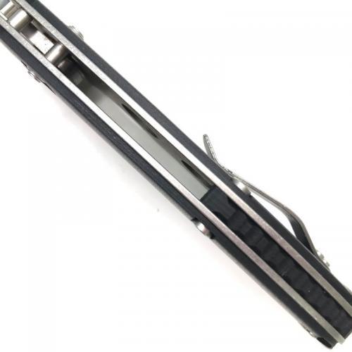Складной нож Черный