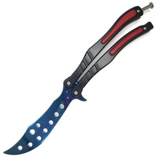 Тренировочный нож CS GO Синий