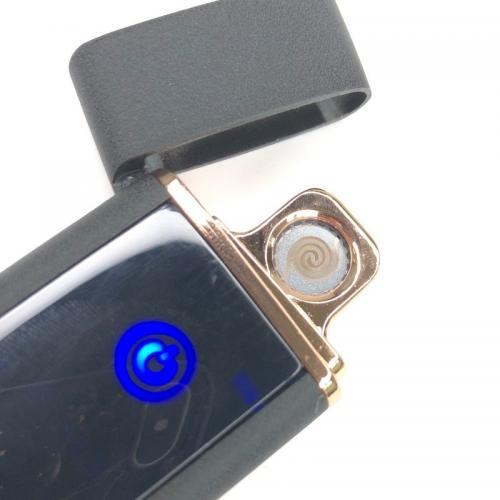 Зажигалка USB Wolf Черная