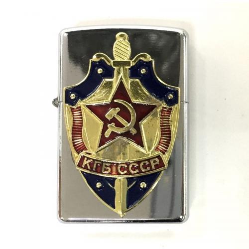 Бензиновая зажигалка КГБ СССР