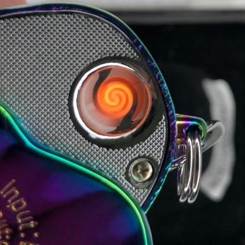 Зажигалка USB Череп